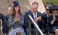 4/25/14 Kate at the War Memorial for Anzac Day in Canberra, Australia.