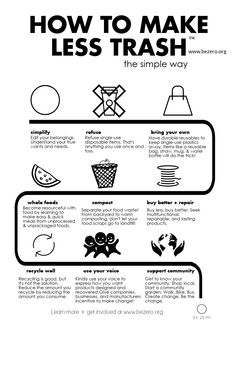 Zero Waste : 100 little steps