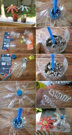 DIY Plastic Bottle Flower
