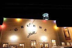 TExAS OLDEST dancehall! the legendary GRuene HALL in Gruene, Texas. http://gruenehall.com/
