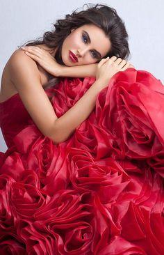 Ravishing red!