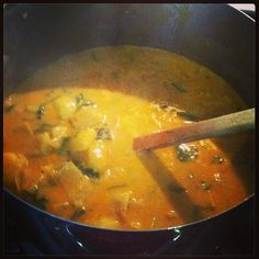 Easy Creamy Potato Spinach Curry