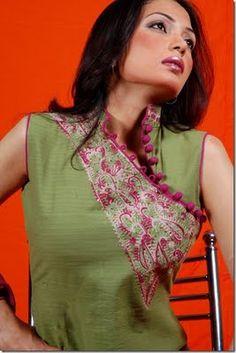 Latest Neck Designs 2013 for Ladies