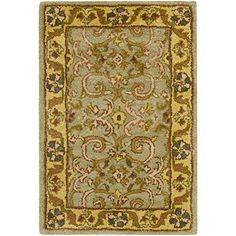 Cheap Safavieh Heritage Collection HG924A Handmade Traditional Oriental Green and Gold Wool Area Rug (3 x 5) https://arearugsforlivingroom.info/cheap-safavieh-heritage-collection-hg924a-handmade-traditional-oriental-green-and-gold-wool-area-rug-3-x-5/