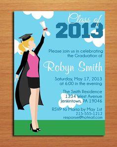 Doctor Graduation Invitation Medical Graduation Invite Doctor