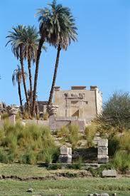 Ancient Ruins At Elephantine Island Aswan Egypt