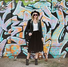 Caitlin Lindquist - What to Wear: With a Tulle Skirt - Photos