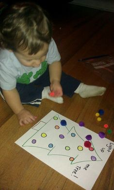 busy+bags+for+2+year+olds | Busy bag Xmas activity. Made for the 2 year old but 1 year old ...
