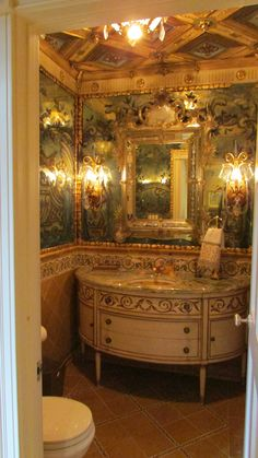 Powder bath designed and executed 8 years ago....