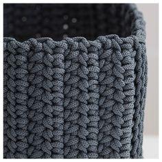 IKEA - NORDRANA Basket, set of 4 gray