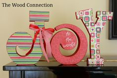 The Wood Connection: Small Joy Letter Set
