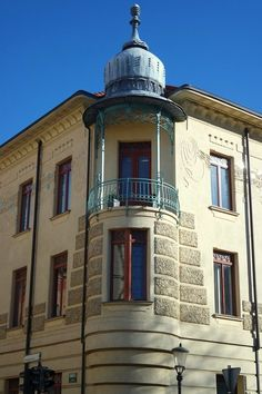 L'art nouveau à Ljubljana Art Nouveau, Mansions, House Styles, Home Decor, Europe, Hampers, Beautiful Buildings, Art Deco, Ride Or Die