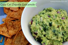 COPY CAT CHIPOTLE GUACAMOLE...SERIOUSLY. - Keep Calm & Carry On...
