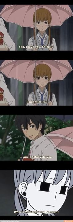 HAHAHA, Haru is unique, gotta love him!{Tonari no Kaibutsu-kun}