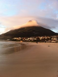Camps Bay, South Africa. Camps, Vacation Destinations, Mount Rainier, Places Ive Been, South Africa, Earth, Ink, Dreams, Mountains