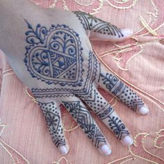 Moroccan piece done for Illeana by Scarlet Bee Henna