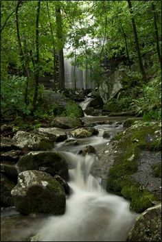 Cornelius Falls in Heber Springs, Arkansas