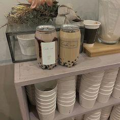 - Pinterest - MaebelBelle - Coffee Latte, Iced Coffee, Coffee Drinks, Iced Mocha, Coffee Break, Brown Aesthetic, Aesthetic Food, Coffee Shop Aesthetic, Bubble Milk Tea