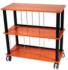 This Lp Rack From Musicdirect Has Steel Reinforced 3 4 Mdf Shelves Storagevinyl Record