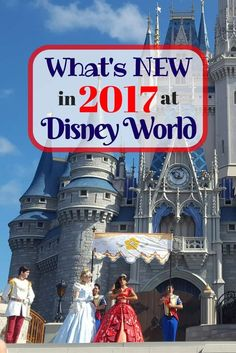 Things that will be new for Walt Disney World in 2017. via /Disney/ Insider Tips