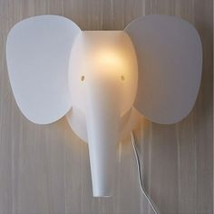 Lampada elefante da muro