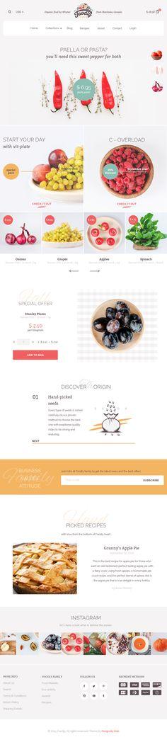 01 foodly homepage desktop