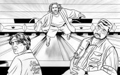 The Big Lebowski Kung Fu, Mike Allred, Coen Brothers, Epic Characters, Nerd Art, The Big Lebowski, Comic Artist, Comic Books Art, Game Art