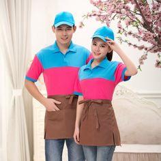 Waiter Uniform, Hotel Uniform, Summer Design, Polo Shirt, T Shirt, Workwear, Designer Dresses, Fashion Dresses, Rustic
