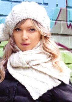 Как вязать берет спицами в комплекте с шарфиком: схема и описание вязания. Хотите этой зимой привнести немного французского стиля в свой гардероб? Тогда свяжите себе этот очаровательный комплект спицами.