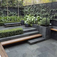 Uncomplicated Contemporary Design #outdoorliving #gardendesign