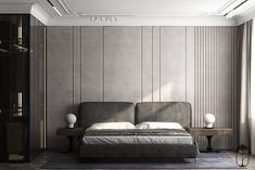 Latest Bedroom Design Ideas Featuring Comfort [Modern and Luxury] Luxury Bedroom Design, Master Bedroom Design, Luxury Home Decor, Home Bedroom, Bedroom Wall, Bedroom Furniture, Furniture Design, Bedroom Decor, Bed Room