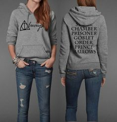 Harry Potter Hoodie. MUST HAVE!!!!