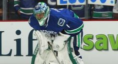 After a summer of speculation, Luongo is still a member of the Vancouver Canucks- but not for much longer. The Canucks must ship Roberto Luongo out of town. Vancouver Canucks, Nhl, Reebok, Daddy, Hockey Sticks, Baseball Cards, Sports, Writing, Hs Sports