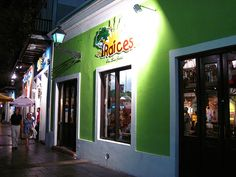 Old San Juan Puerto Rico Restaurants Raices Servers Dressed In Pr