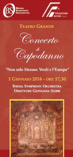 Concerto di Capodanno al Teatro Grande http://www.panesalamina.com/2013/20248-concerto-di-capodanno-al-teatro-grande.html