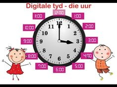 Leer om tyd te lees in afrikaans - Digitale tyd uur Free Preschool, Preschool Worksheets, Math For Kids, Activities For Kids, Afrikaans Language, Career Quotes, Success Quotes, Self Improvement Quotes, Teaching Time