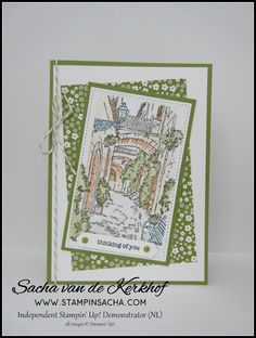 Stampin' Sacha - Stampin' Up! - Spring/Summer Catalogue 2017 -Mediterranean Moments - Stitched Shapes Framelits - Watercolor Pencils - #stampin_sacha - #stampinup - #love