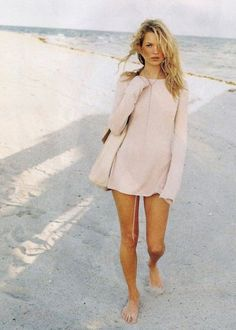 Summer of love- Kate Moss by Peter Lindberg