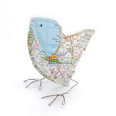 Map birdie
