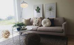 De Conrad in een frisse en natuurlijke woonkamer #sstyleit #deensdesign #sofacompany