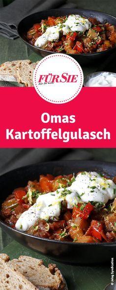 Rezept für Omas Kartoffelgulasch