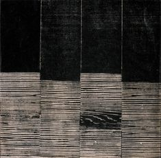 Lygia Pape, Untitled (from the series Weaving), 1959, Woodcut on paper, 24.4 x 24.8 cm, Coleccion Patricia Phelps de Cisneros. c Projeto Lygia Pape