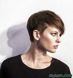 How to cut a pixie haircut 2014