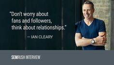 Ian Cleary on Relationship Management and Marketing Success