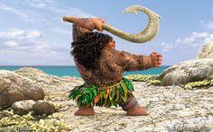 #Maui from Disney's Moana :]