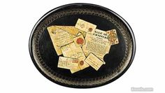 Antique Papier mache | Furniture Clocks Lighting Antiques & Collectibles Price Guide | Antiques & Collectibles Price Guide | Kovels.com
