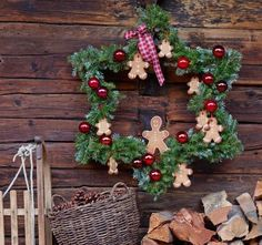 Weihnachtsdeko Selber Machen   Kränze, Karten U0026 Mehr Basteln