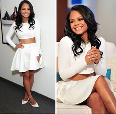 as seen on // christina milian wearing armour crystal gold ring