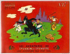 Les aventures de Sylvain et Sylvette, deux enfants qui n'ont pas froid aux yeux, le contraire de moi..Leurs albums me ravissent.!.
