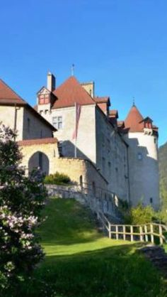 Schloss Greyerz, Switzerland